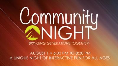 Community Night 8.1