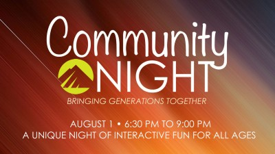 Community Night 8.1