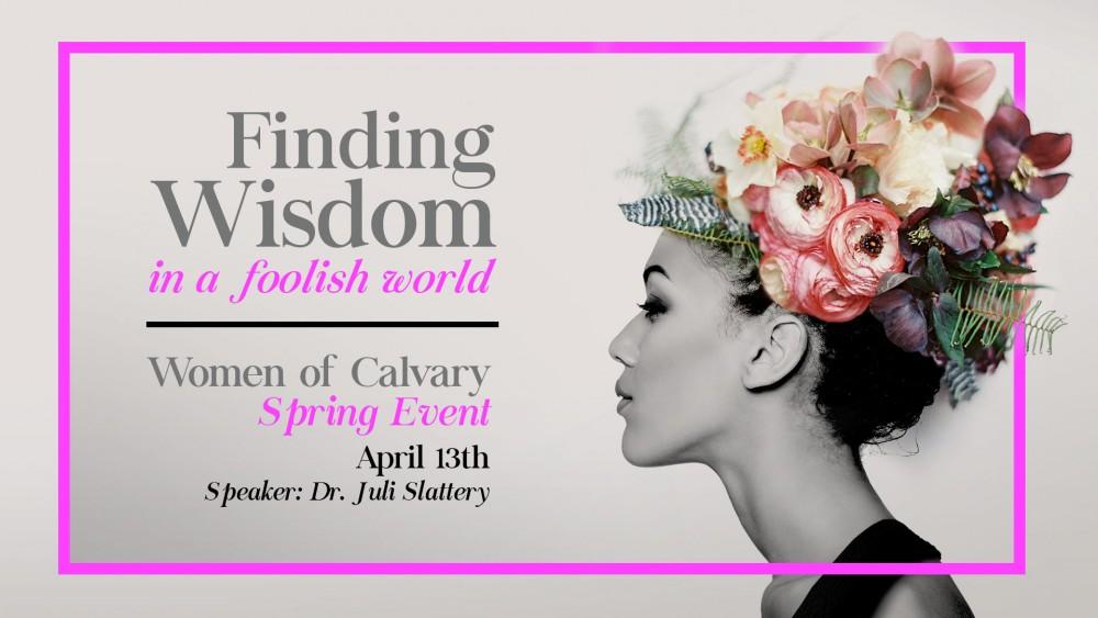 Women of Calvary : Spring Event